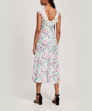 Antoinette Floral-Print Crepe Maxi Dress