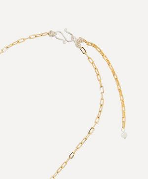 Gold-Plated Paris Paris Crystal Shell Necklace