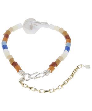 Nasty Girl Baroque Pearl Beaded Bracelet