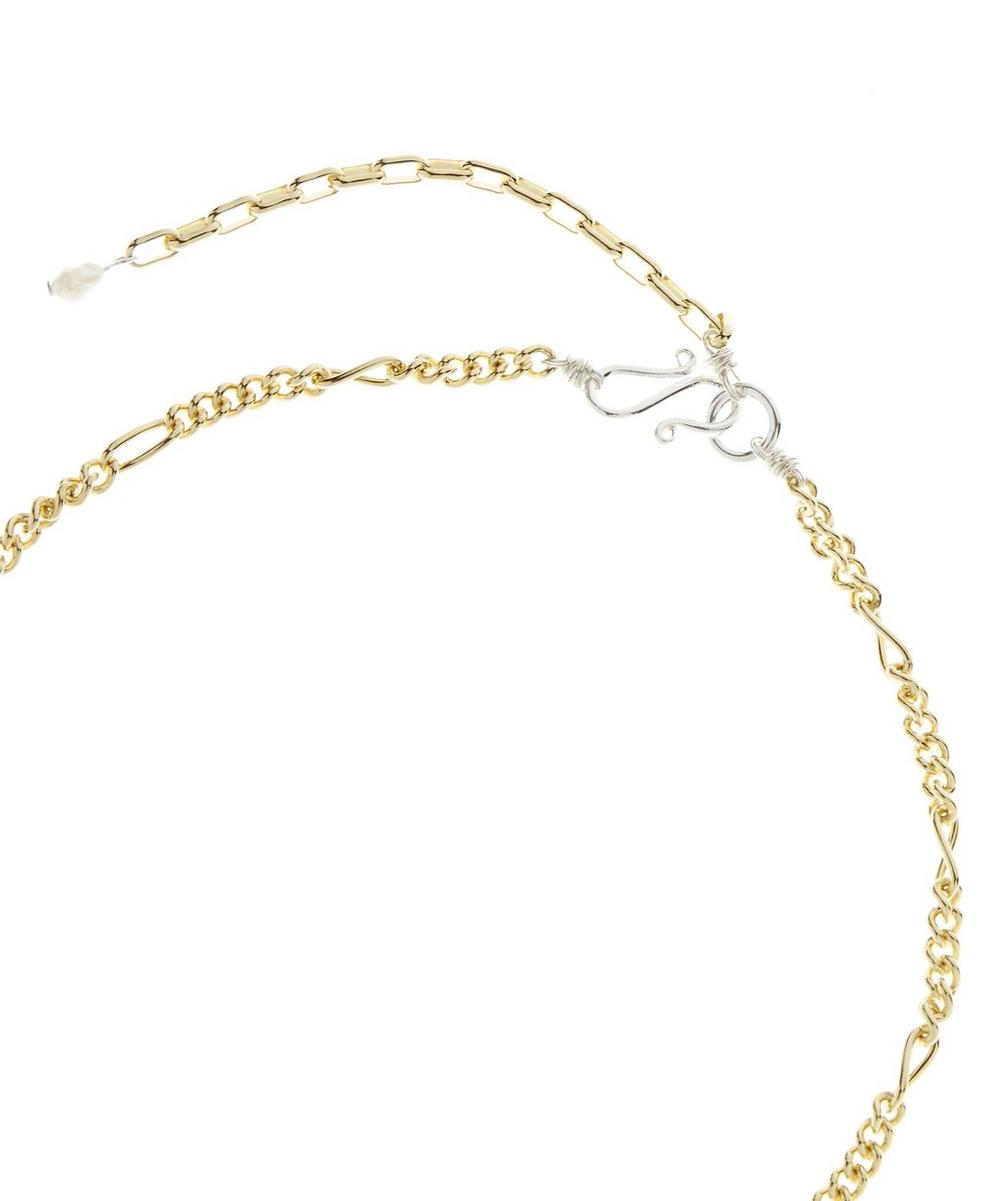 Gold-Plated Lady Marmalade Pearl Shell Necklace