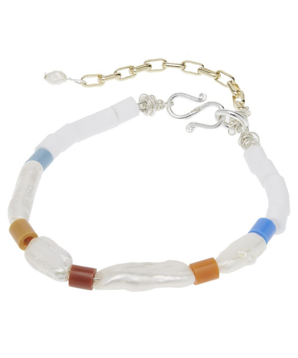 Genie In A Bottle Pearl Beaded Bracelet and Anklet