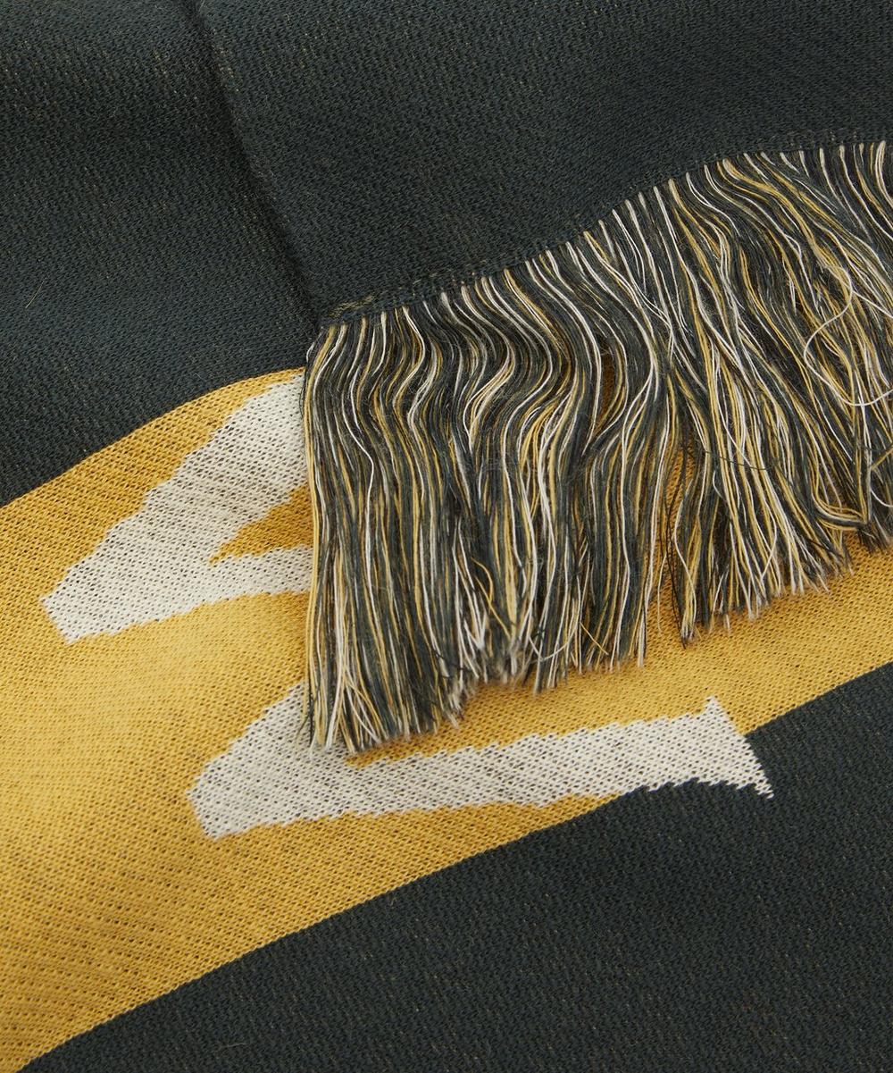 Logo Stripe Scarf
