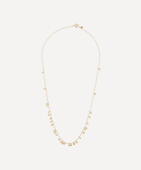 Sia Taylor - 18ct Gold Random Dots Necklace