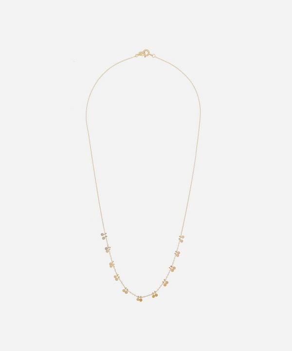 Sia Taylor - 18ct-24ct Rainbow Gold Little Dots Necklace