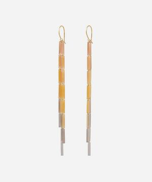 Gold Raindance Drop Earrings