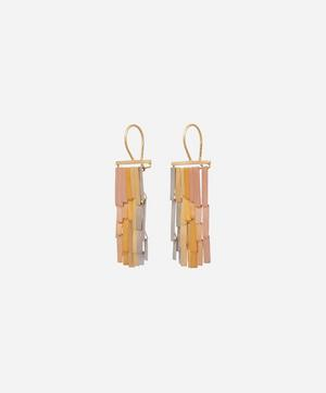 Gold Rainfall Drop Earrings