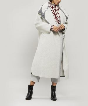 Relton Oversize Wool and Cashmere Coat