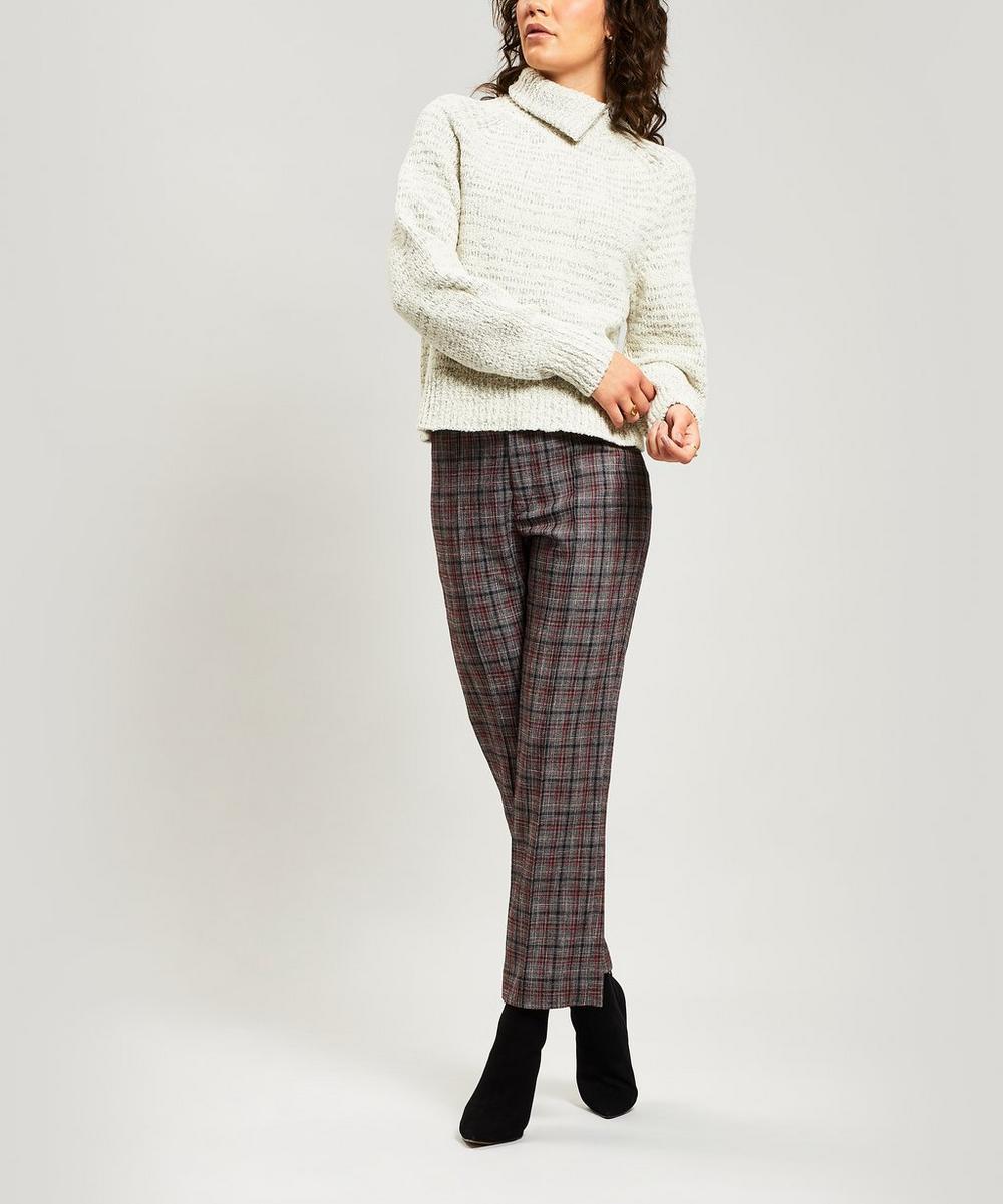 Effy Wool-Blend Turtleneck Jumper