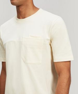 Angle Pocket Cotton T-Shirt