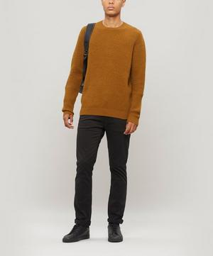 Signal Chunky Ribbed Crew-Neck Jumper