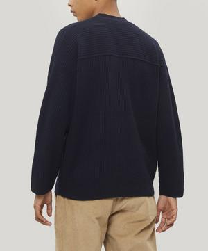 Signal Ribbed Wool Cardigan