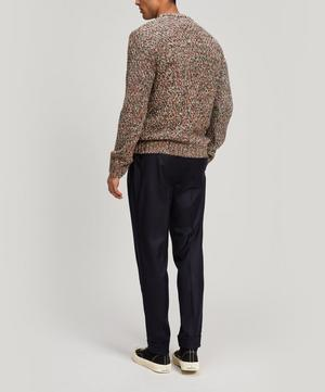 Mixed Yarn Wool-Blend Sweater