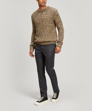 Mixed Yarn Wool-Blend Sweater