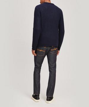 Textured Crew-Neck Sweater