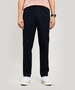 Relaxed Canvas Trousers