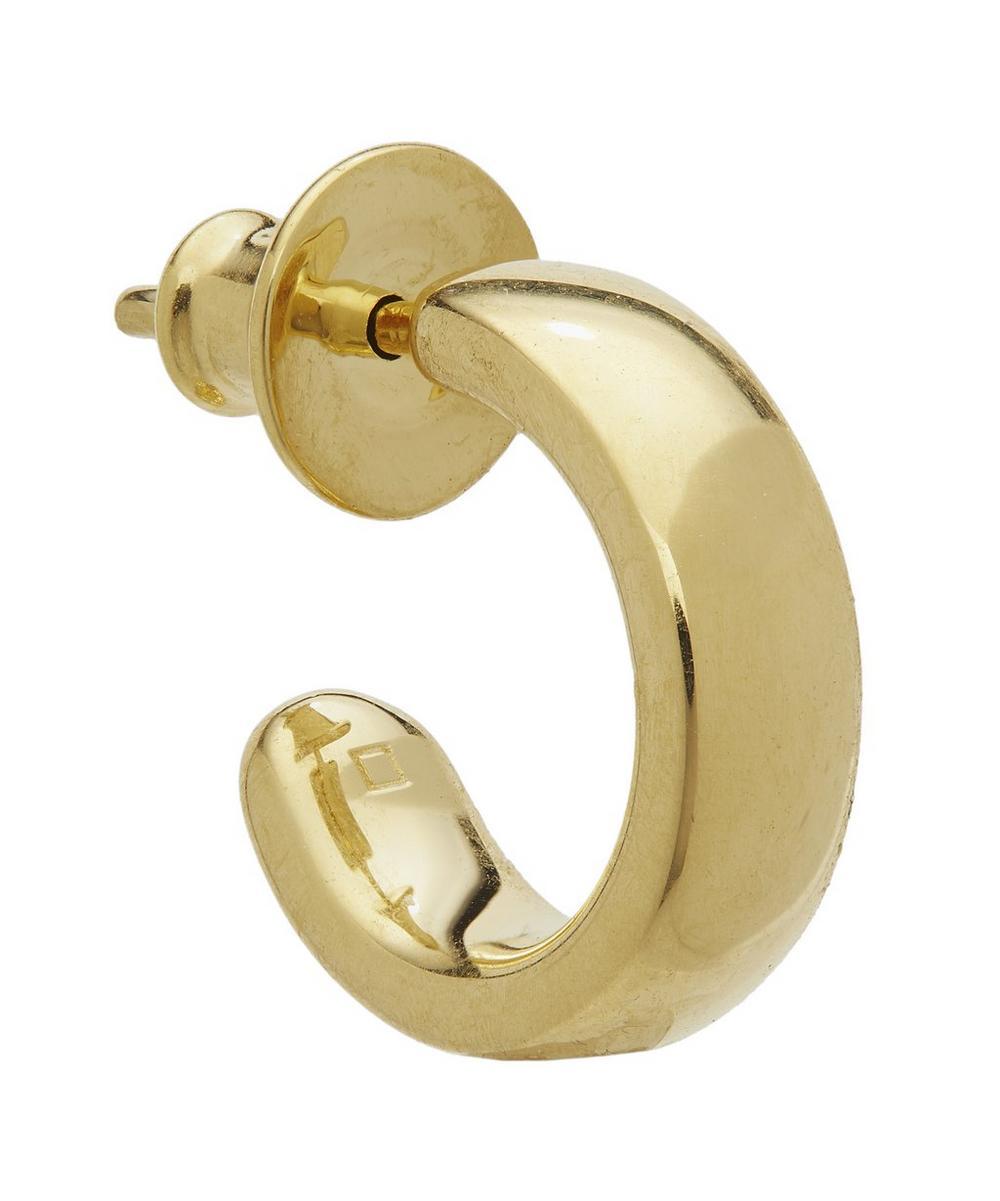 Gold Vermeil Fiji Mini Single Hoop Earring