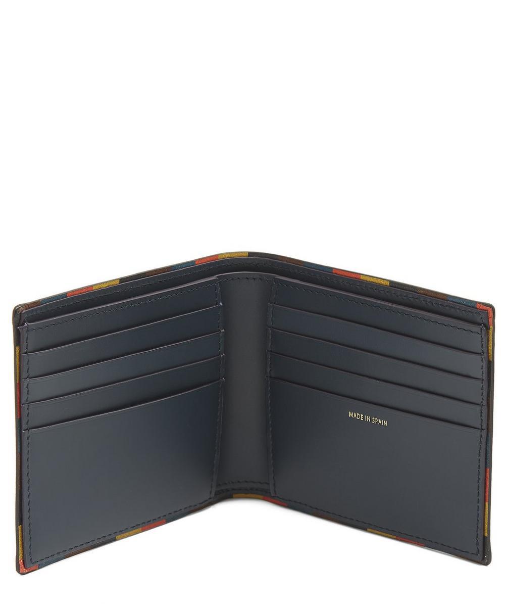 Striped Edge Bifold Wallet