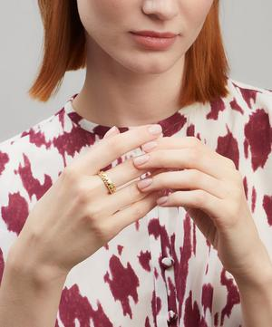 Gold Noelle Rainbow Sapphire and Diamond Ring