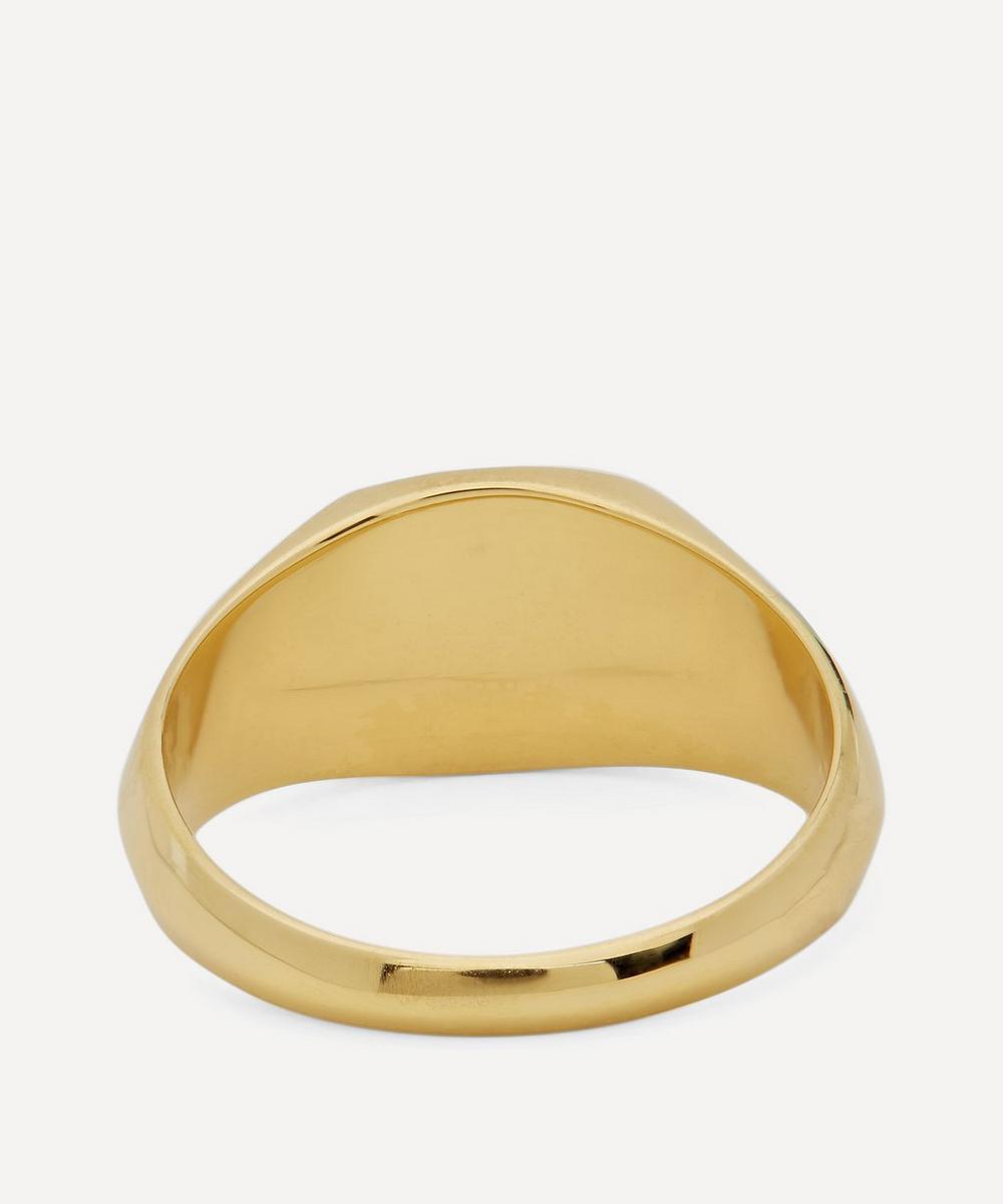 Gold-Plated Gordon Signet Ring