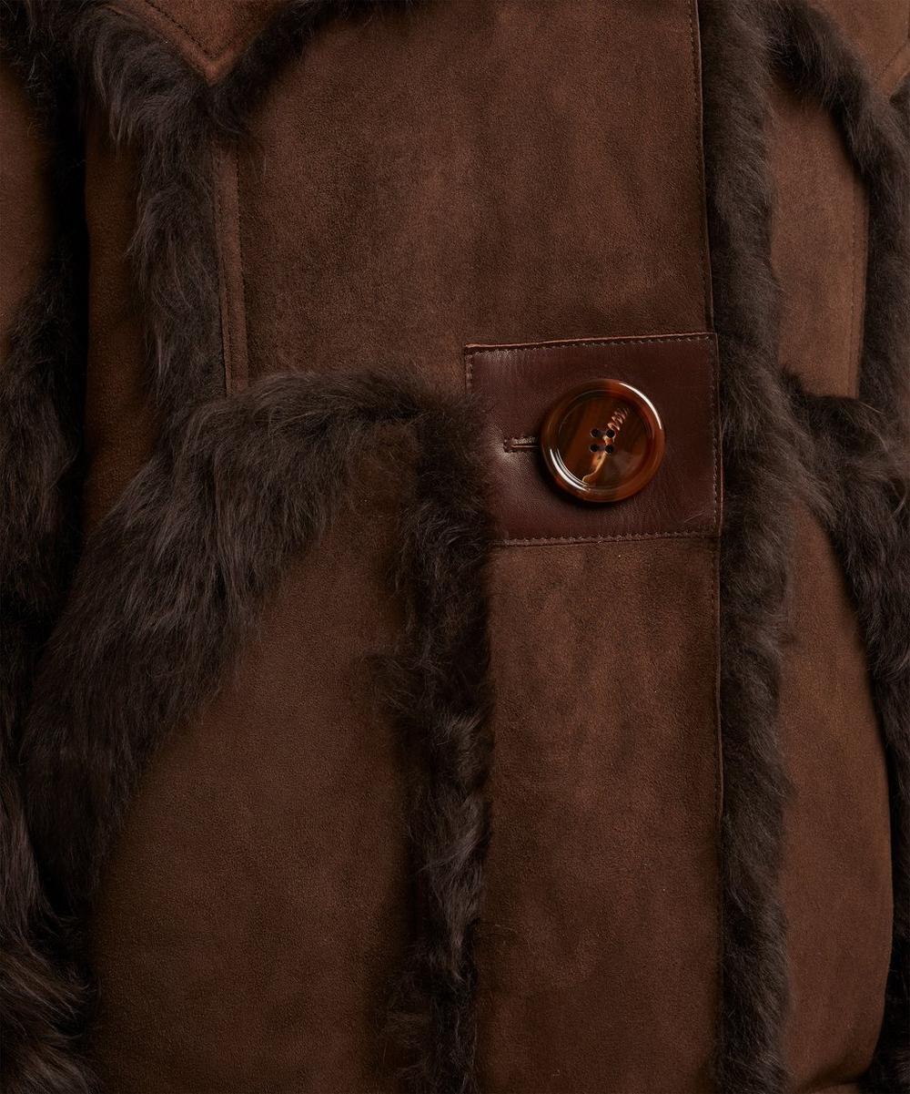 Lavinia Oversized Shearling Jacket