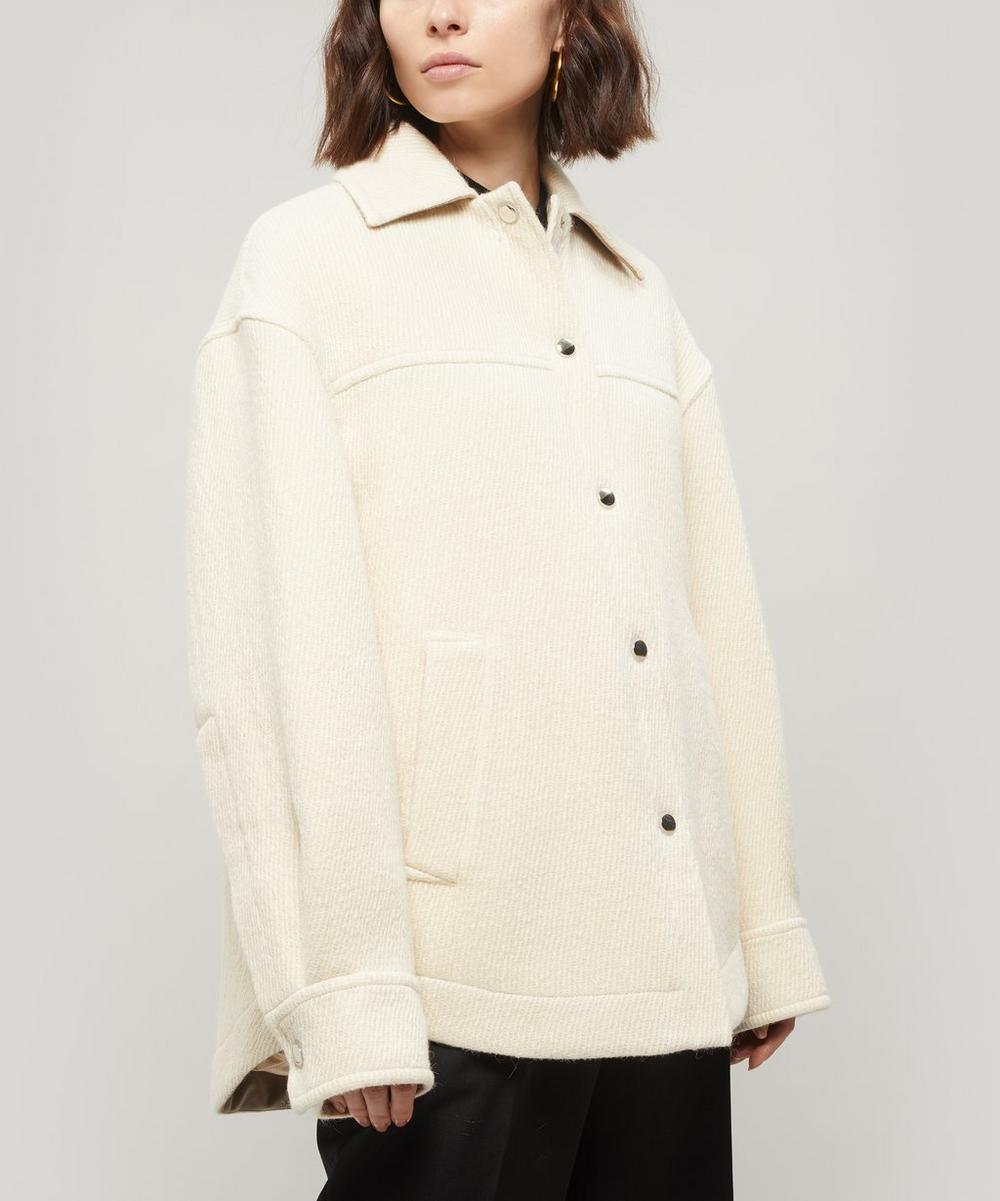 Ocilia Wool-Blend Twill Overshirt