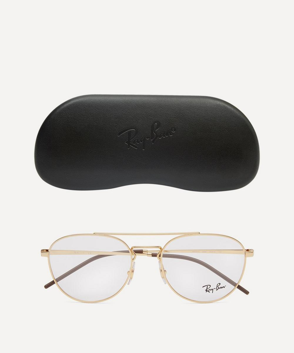 Metal Double-Bridge Optical Glasses