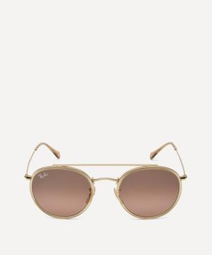 Round Double Ridge Sunglasses