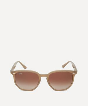 Angular Round Sunglasses