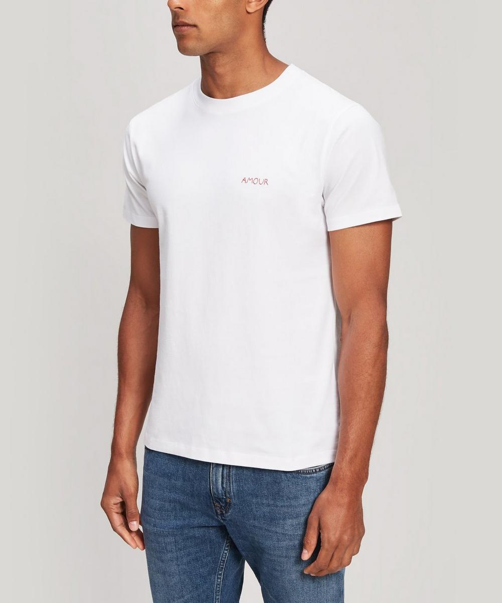 Amour Embroidered Heavy Cotton T-Shirt