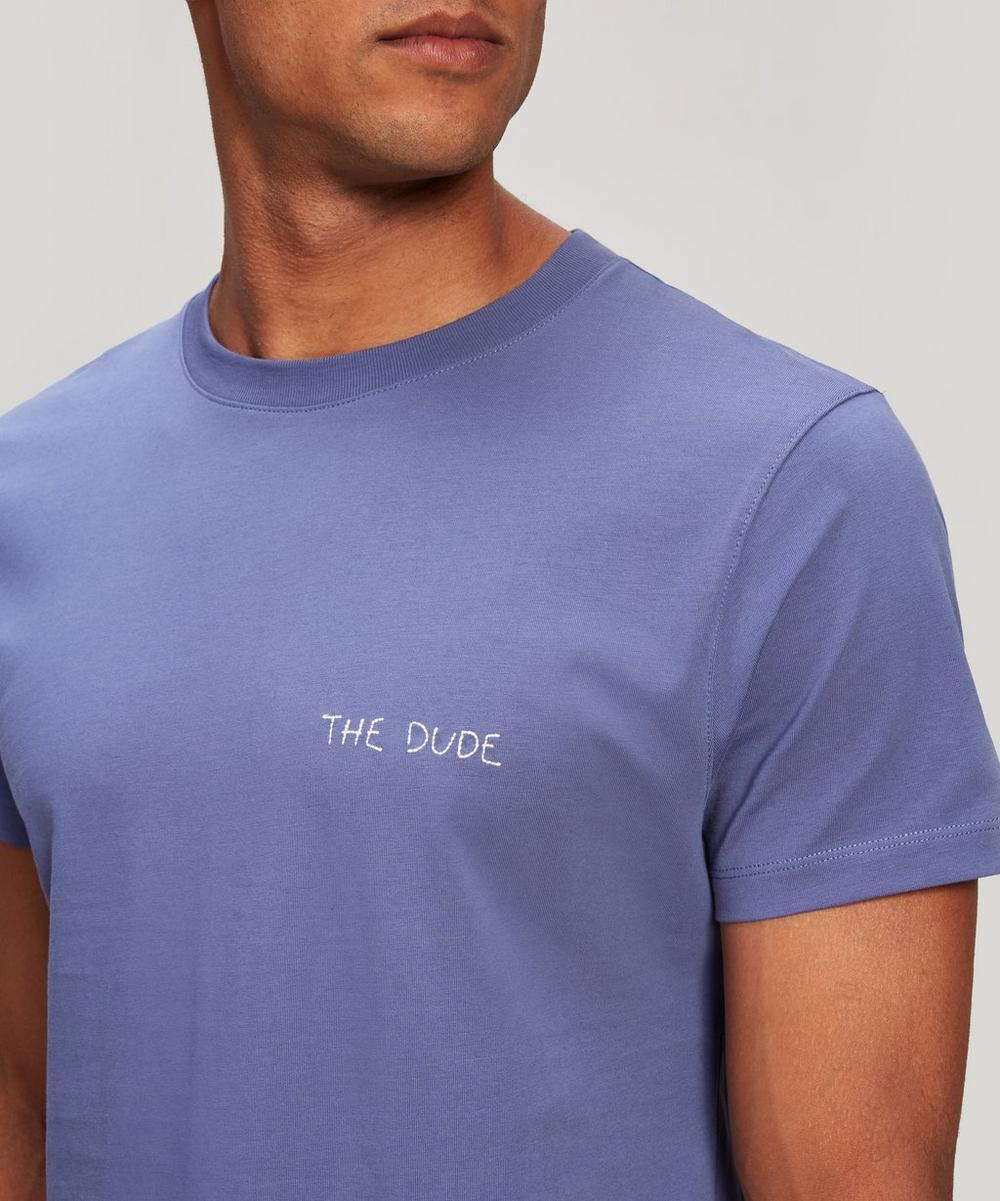 The Dude Embroidered Heavy Cotton T-Shirt