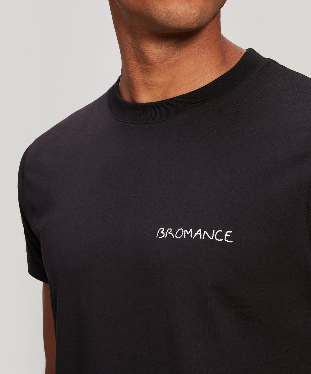 Bromance Embroidered Heavy Cotton T-Shirt