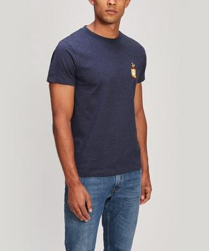 Lazy Chips Embroidered Heavy Cotton T-Shirt