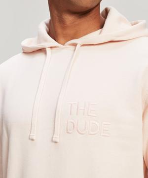 The Dude Embroidered Cotton Hoodie