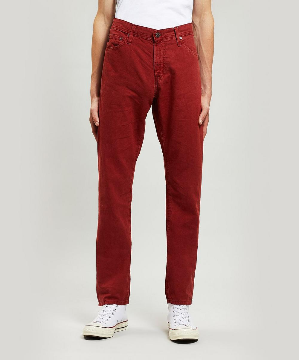 Everett Linen-Blend Trousers