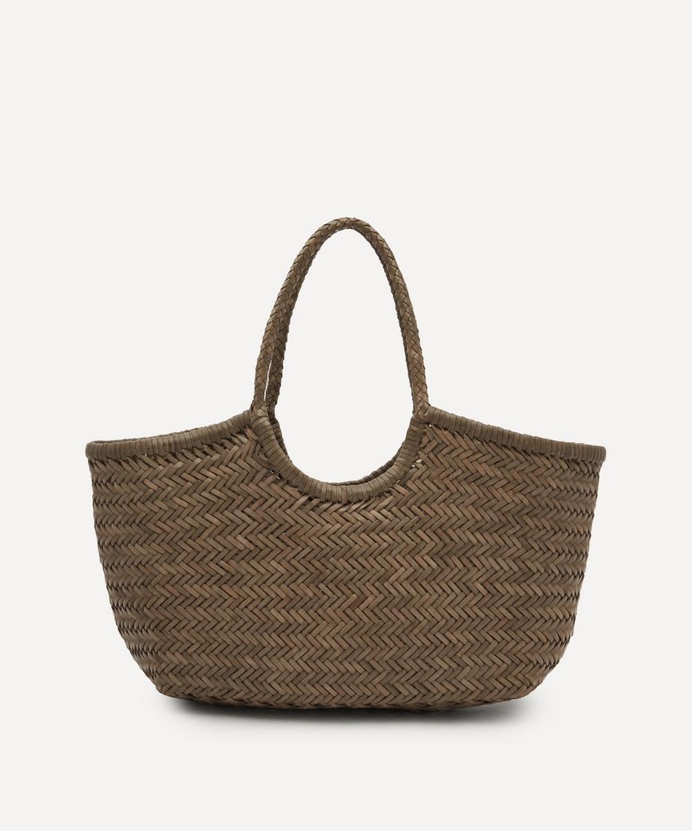 Dragon Diffusion - Nantucket Woven Leather Tote Bag