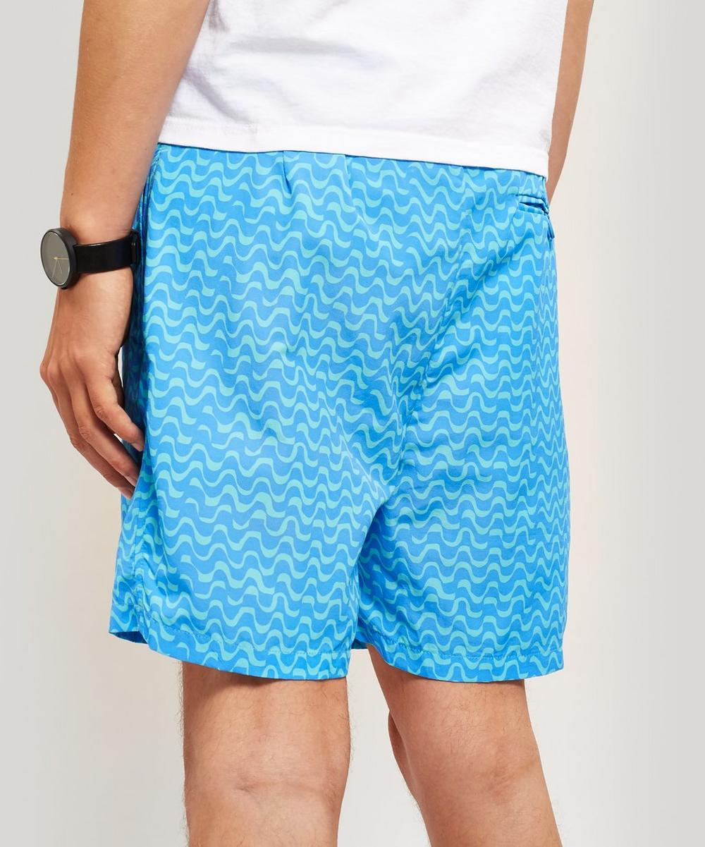 Wave Bossa Tailored Long Swim Shorts