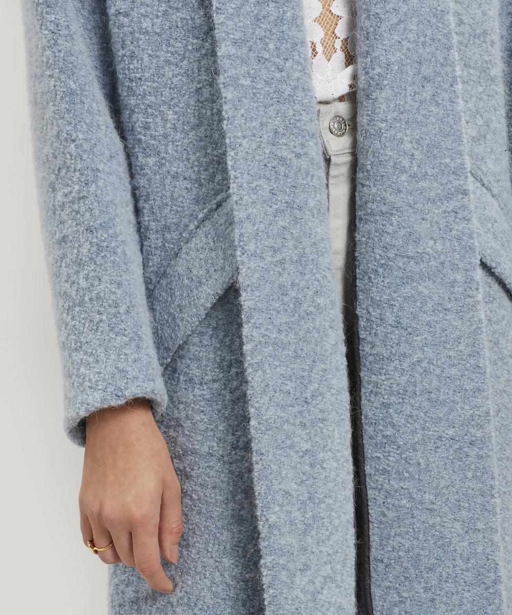 Faby Oversized Felt Coat