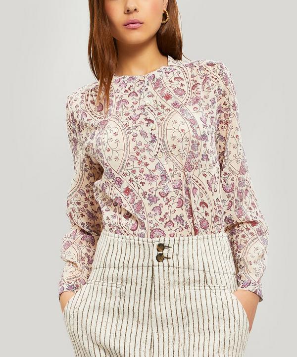 af120276b0 Maria Floral Print Cotton Blouse ...