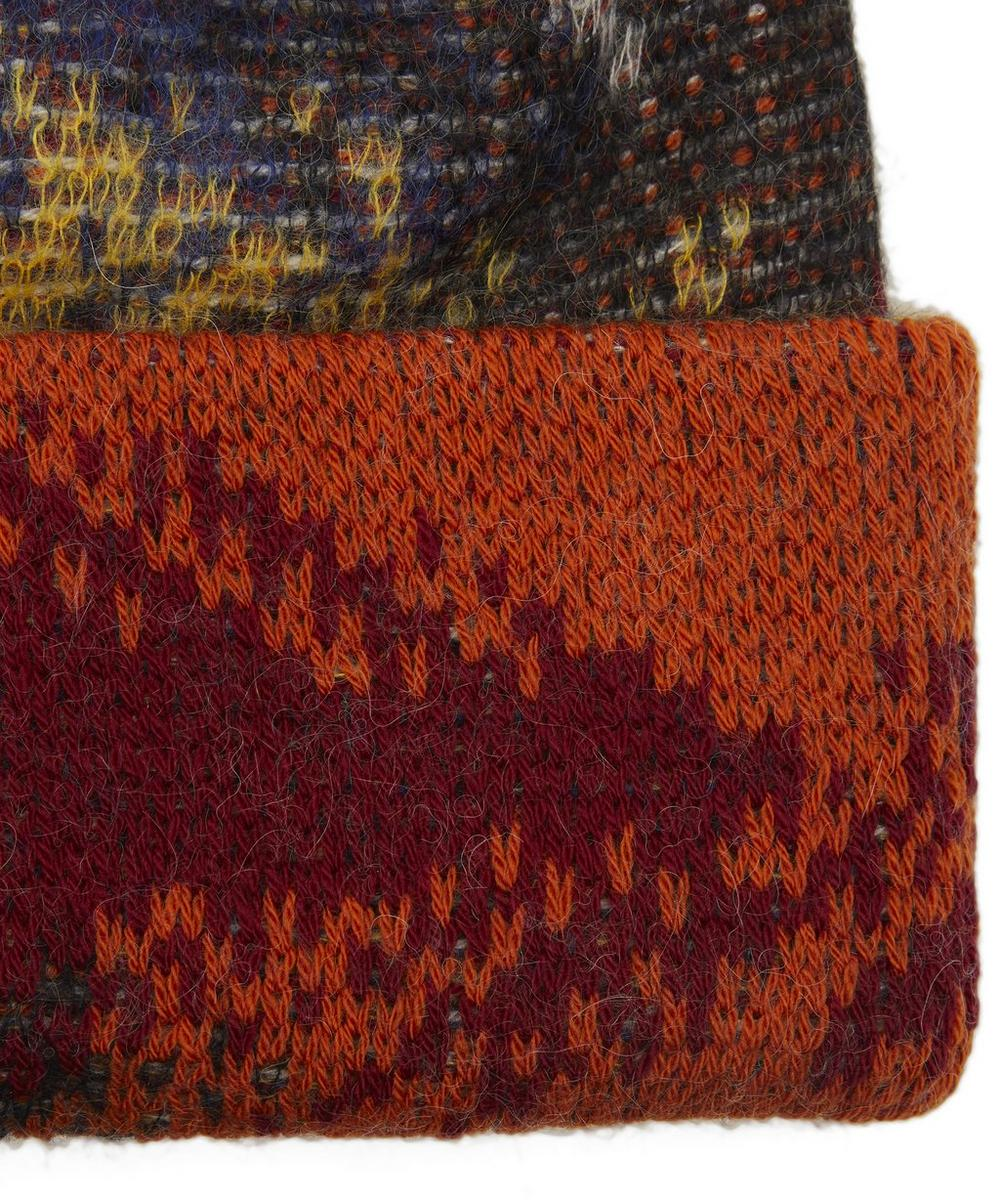 Wool-Blend Beanie Hat