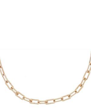 Rose Gold Vermeil Alta Capture Charm Necklace