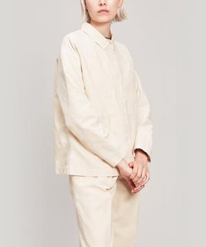 Linen and Cotton-Blend Jacket