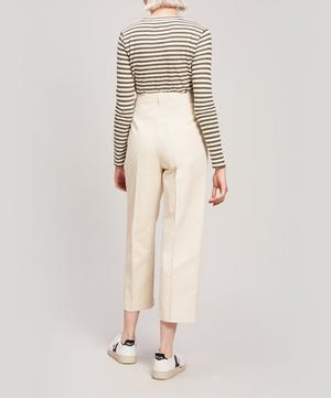 Market Linen and Cotton-Blend Trousers