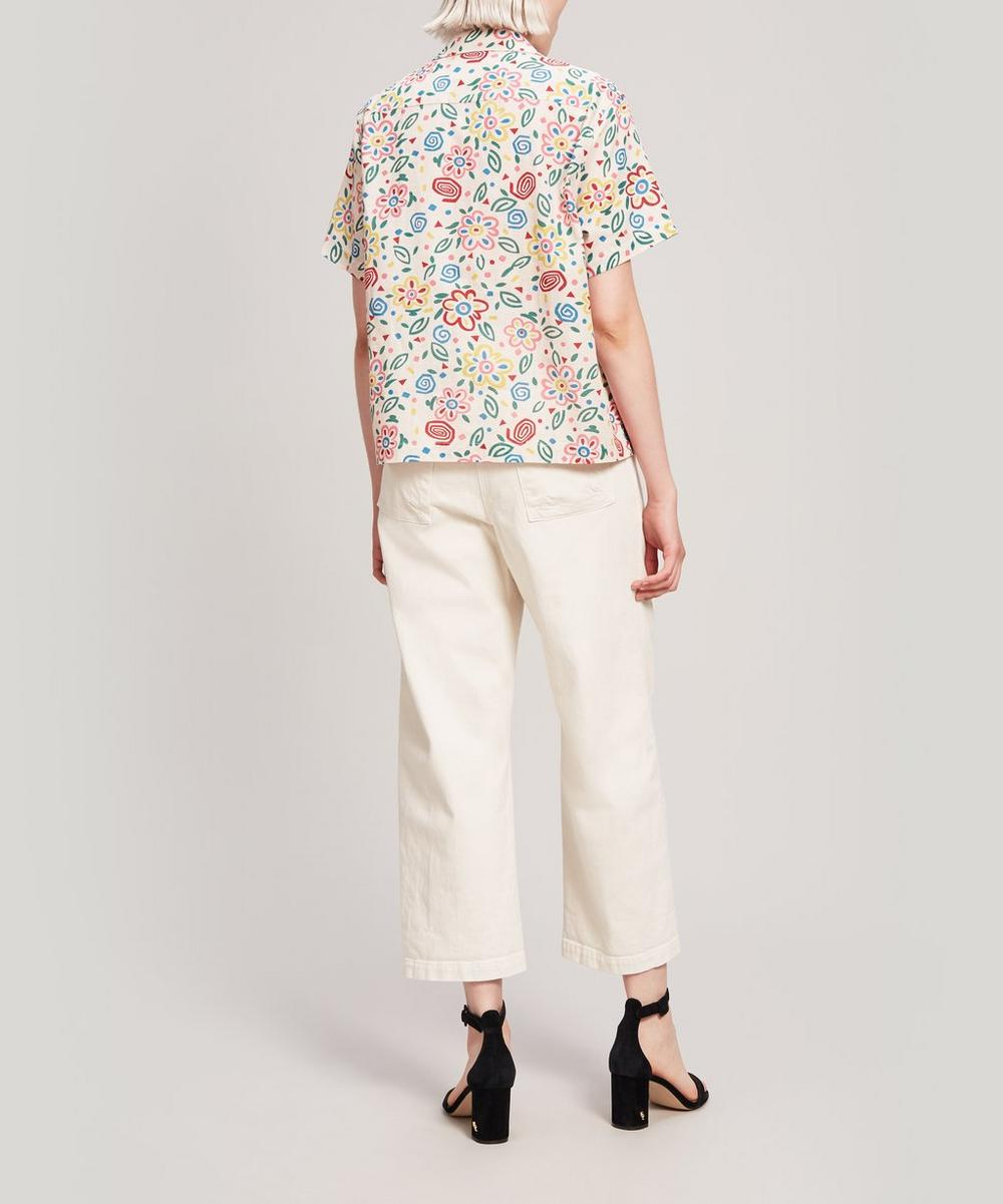 Vegas Floral Short-Sleeve Shirt