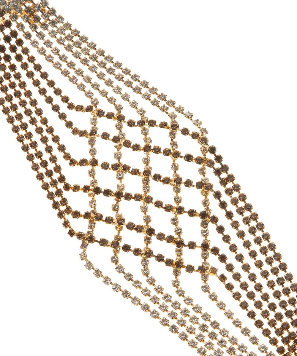 Gold-Tone Oasis Crystal Bracelet