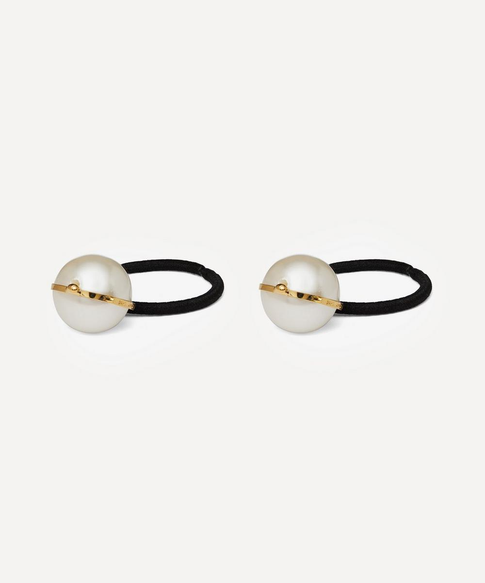 Epica Faux Pearl Hair Ties Set of Two