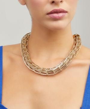 Gold-Tone Muse Chain Necklace