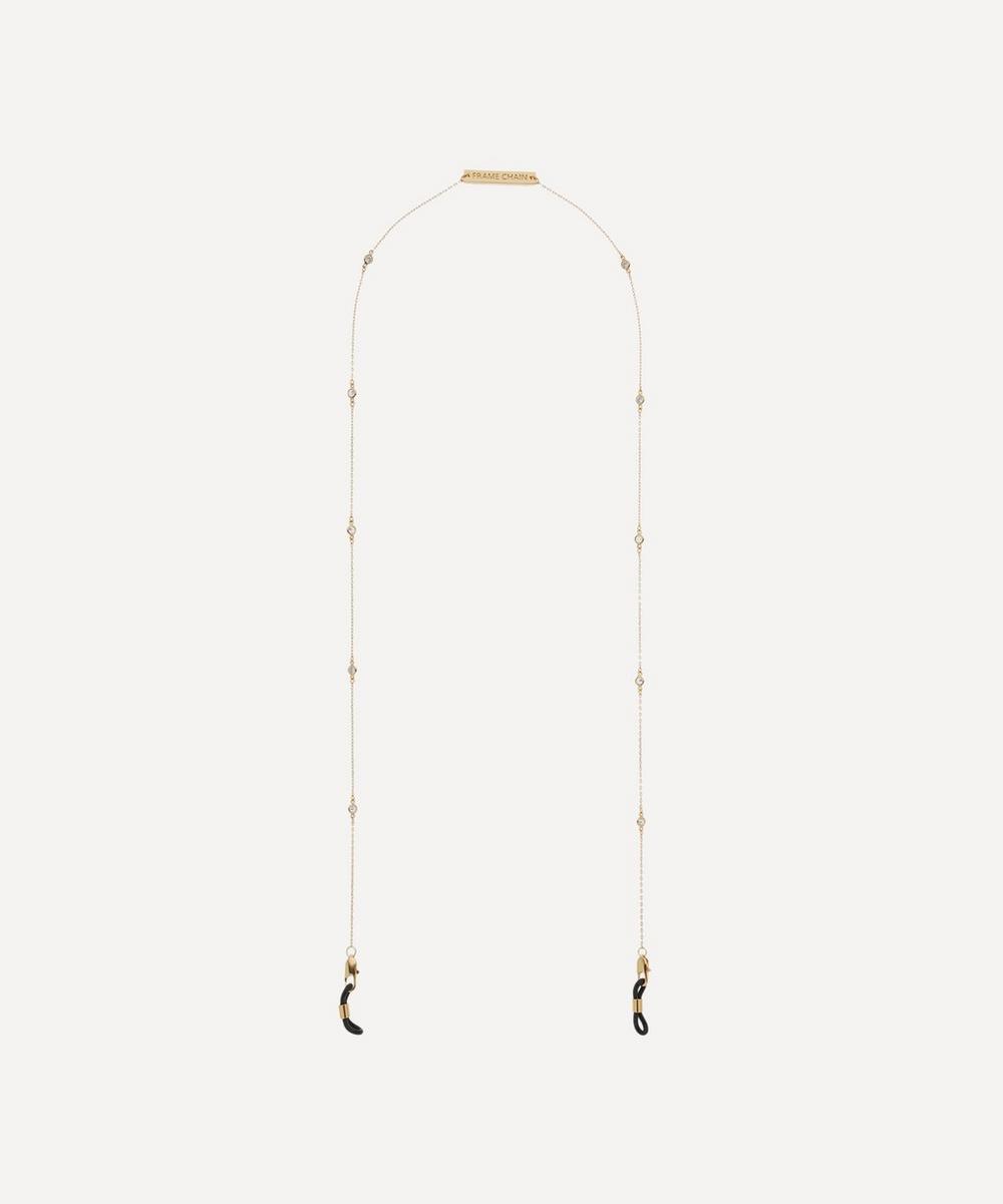 Gold-Plated Shine Bright Glasses Chain