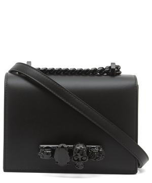 Small Leather Jewelled Satchel
