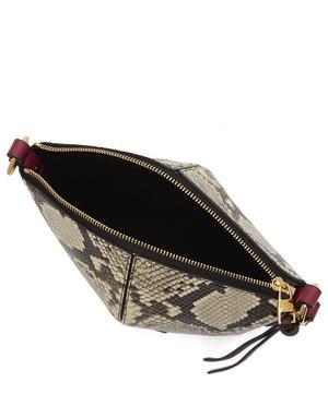 Mini Leather Cross-Body Bucket Bag
