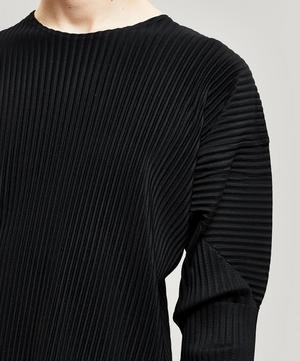 Core Pleated Long Sleeve T-Shirt